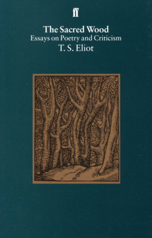 ts eliot essay tradition and the individual talent Eliot, t s 1921 the sacred wood: essays on poetry and criticism  tradition and the individual talent the possibility of a poetic drama euripides and professor .